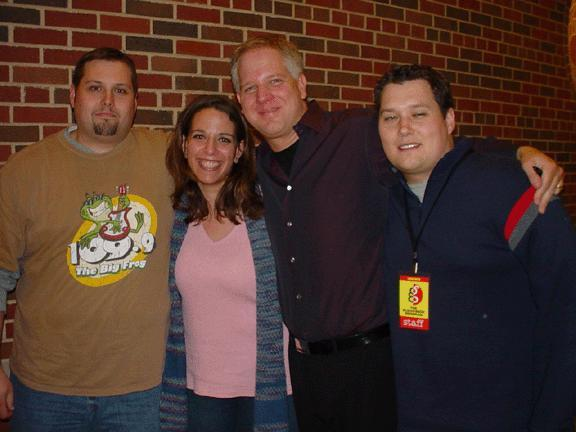 Jen and I with Glenn Beck and Steve Stu Burguiere Tagged Photos ...