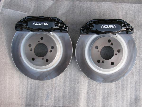 Acura Tl Brembo Oem Brake Set Caliper Pads Rotors New Honda Tech Honda Forum Discussion